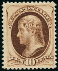 Stamps, 10¢ Brown (187),...