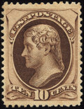 Stamps, 10c Brown (188),...