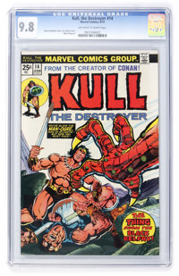 Kull the Destroyer #14 (Marvel, 1974) CGC NM/MT 9.8 Off-white to white pages
