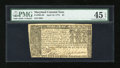 Colonial Notes:Maryland, Maryland April 10, 1774 $4 PMG Choice Extremely Fine 45 EPQ....