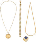 Estate Jewelry:Lots, Lapis Lazuli, Gold Coin, Gold Jewelry Lot. ...