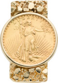 Estate Jewelry:Objects d'Art, Gold Money Clip. ...