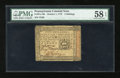 Colonial Notes:Pennsylvania, Pennsylvania October 1, 1773 5s PMG Choice About Unc 58 EPQ....