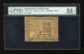 Colonial Notes:Pennsylvania, Pennsylvania October 1, 1773 2s/6d PMG About Uncirculated 55EPQ....