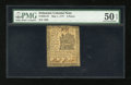 Colonial Notes:Delaware, Delaware May 1, 1777 3d PMG About Uncirculated 50 EPQ....