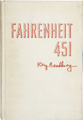 Books:Signed Editions, Ray Bradbury. Fahrenheit 451. New York: Ballantine Books,1953....
