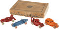 Antiques:Toys, Arcade Cast Iron Toy Assortment No. 3500 in the Original Box....