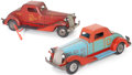 Antiques:Toys, Pair of Marx Pressed Metal Toy Sedans.... (Total: 2 Items)