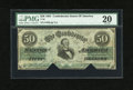 Confederate Notes:1861 Issues, T16 $50 1861.. ...