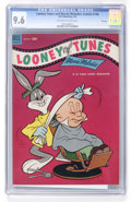 Golden Age (1938-1955):Cartoon Character, Looney Tunes and Merrie Melodies Comics #148 File Copy (Dell, 1954)CGC NM+ 9.6 Off-white to white pages....