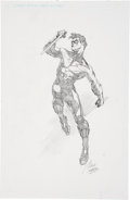 "Original Comic Art:Illustrations, Ralph ""Rags"" Morales Nightwing Pencil Illustration Original Art (undated)...."