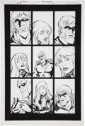 Original Comic Art:Panel Pages, Mike Norton and Wayne Faucher Green Arrow/Black Canary #9 page 1 Original Art (DC, 2008)....