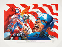 Jim Steranko Spirit of America Limited Edition Print #442/2500 (Vanguard Productions, 2002)