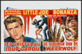 "Movie Posters:Horror, I Was a Teenage Werewolf (American International, R-1960s). Belgian(14"" X 21.5""). Horror.. ..."