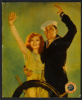 "Movie Posters:Comedy, True to the Navy (Paramount, 1930). Jumbo Lobby Card (14"" X 17"").Comedy.. ..."