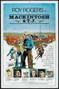 """Movie Posters:Western, Mackintosh and T.J. (Penland, 1975). One Sheet (27"""" X 41"""").Western.. ..."""