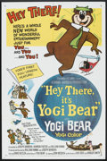"Movie Posters:Animated, Hey There, It's Yogi Bear (Columbia, 1964). One Sheet (27"" X 41"").Animated.. ..."