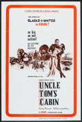"Movie Posters:Drama, Uncle Tom's Cabin (Kroger Babb, 1965). One Sheet (27"" X 41"").Drama.. ..."