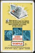 "Movie Posters:Hitchcock, Topaz (Universal, 1969). One Sheet (27"" X 41""). Hitchcock.. ..."