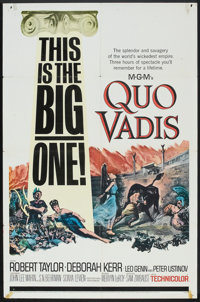 "Quo Vadis (MGM, R-1964). One Sheet (27"" X 41""). Historical Drama"