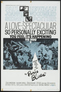 "Movie Posters:Drama, Paris Blues (United Artists, 1961). One Sheet (27"" X 41""). Drama....."