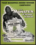 "Movie Posters:Horror, The Monster of Piedras Blancas (Film Service Distributing, 1959).Pressbook (Multiple Pages) (11"" X 14""). Horror.. ..."