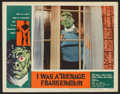 "Movie Posters:Horror, I Was a Teenage Frankenstein (American International, 1957). LobbyCard (11"" X 14""). Horror.. ..."