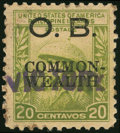 "Stamps, 1944, 20c Large Commonwealth with Handstamped ""VICTORY"" Overprint (O43),..."