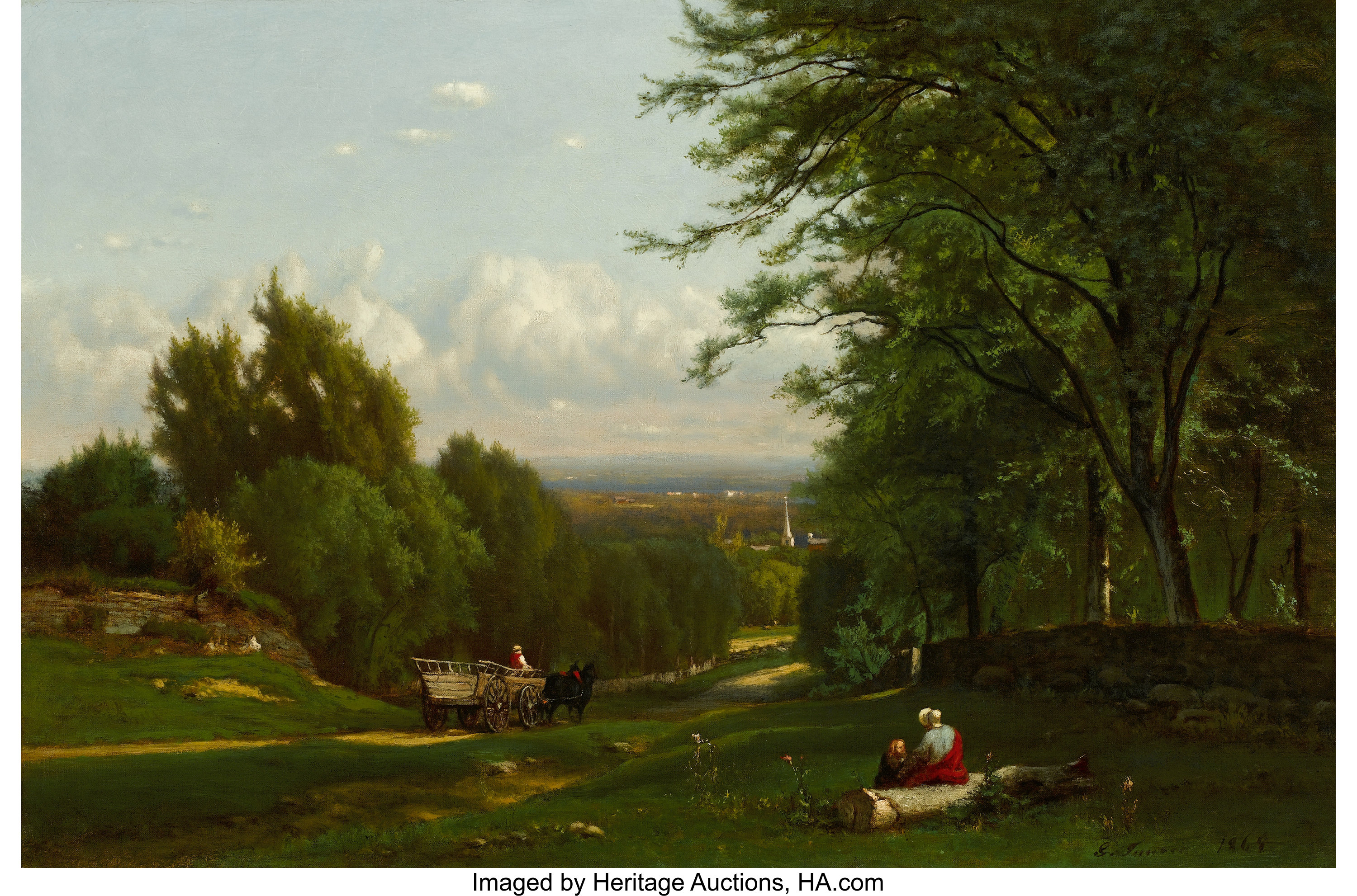 Auctions In My Area >> George Inness Paintings for Sale | Value Guide | Heritage Auctions
