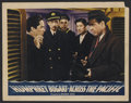"""Movie Posters:War, Across the Pacific (Warner Brothers, 1942). Lobby Card (11"""" X 14"""").War. Starring Humphrey Bogart, Mary Astor, Sydney Greens..."""