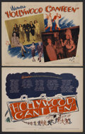 "Movie Posters:Musical, Hollywood Canteen (Warner Brothers, 1944). Title Lobby Card (11"" X14"") and Lobby Card (11"" X 14""). Musical. Starring Bette ...(Total: 2)"