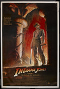"Movie Posters:Adventure, Indiana Jones and the Temple of Doom (Paramount, 1984). Poster (40""X 60""). Adventure. Starring Harrison Ford, Kate Capshaw,..."