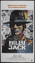 "Movie Posters:Action, Billy Jack (Warner Brothers, 1971). International Three Sheet (41""X 81""). Action. Starring Tom Laughlin, Delores Taylor, Cl..."