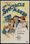 "Movie Posters:Short Subject, The Spectacle Maker (MGM, 1934). One Sheet (27"" X 41""). ShortSubject. Starring Nora Cecil, Harvey Clark, Cora Sue Collins, ..."