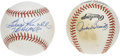 Autographs:Baseballs, Boog Powell and Jackie Brandt Single Signed Baseballs. Boog was oneof the most popular players to ever don a Baltimore uni...