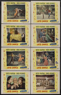 "Movie Posters:Musical, Let's Dance (Paramount, 1950). Lobby Card Set of 8 (11"" X 14""). Musical. Starring Betty Hutton, Fred Astaire, Roland Young, ... (Total: 8)"