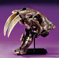Dinosauria:Casts, SABRE-TOOTHED TIGER SKULL CAST. ...