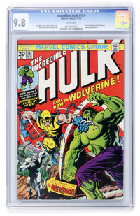 The Incredible Hulk #181 (Marvel, 1974) CGC NM/MT 9.8 White pages