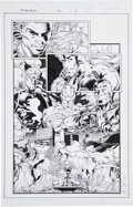 Original Comic Art:Panel Pages, Trevor Scott and Andrew Pepoy Excalibur #123 page 3 Original Art (Marvel, 1998)....