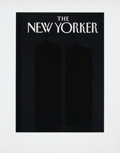 Memorabilia:Poster, Art Spiegelman New Yorker Twin Towers Cover Print, 3/20(2001)....