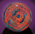 Lapidary Art:Spheres, HUGE FLUORESCENT SPHERE. ...