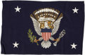 Political:Presidential Relics, Franklin Roosevelt: Personal Presidential Flag....