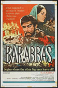 "Movie Posters:Adventure, Barabbas (Columbia, 1962). One Sheet (27"" X 41""). Adventure.. ..."