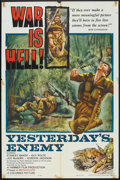 "Movie Posters:War, Yesterday's Enemy (Columbia, 1959). One Sheet (27"" X 41""). War....."