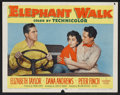 "Movie Posters:Adventure, Elephant Walk Lot (Paramount, 1954). Lobby Cards (16) (11"" X 14"").Adventure.. ... (Total: 16 Items)"