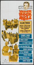"Movie Posters:Rock and Roll, Mister Rock and Roll (Paramount, 1957). Three Sheet (41"" X 81"").Rock and Roll.. ..."