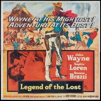 """Legend of the Lost (United Artists, 1957). Six Sheet (81"""" X 81""""). Adventure"""