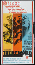 "Movie Posters:Western, The Reward (20th Century Fox, 1965). Three Sheet (41"" X 81"").Western.. ..."