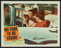 "Movie Posters:Drama, No Time to Be Young Lot (Columbia, 1957). Lobby Cards (11) (11"" X 14""). Drama.. ... (Total: 11 Items)"