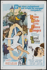 "Snow White and the Three Stooges (20th Century Fox, 1961). One Sheet (27"" X 41""). Comedy"